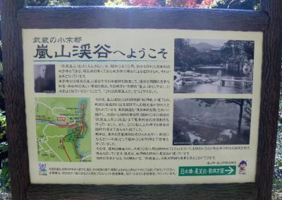 嵐山渓谷案内