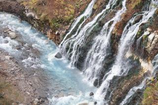 しろひげの滝