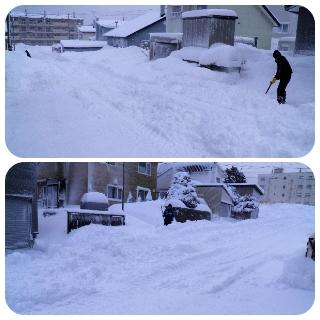 除雪作業1