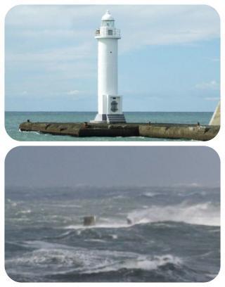 白灯台倒壊1