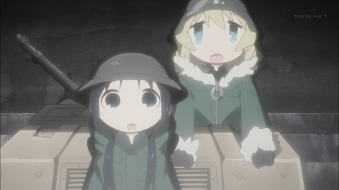 少女終末旅行 第1話 星空/戦争 アニメ実況 感想 画像