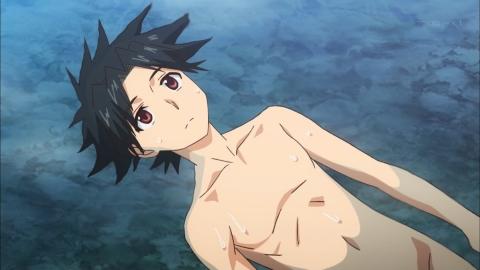UQ HOLDER! 〜魔法先生ネギま!2〜 第2話 裸で出会えば友達(ダチ)になる アニメ実況 感想 画像