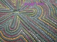 緑 ムミョン セキシルヌビ グラデーション糸