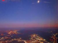 大邱の夕日