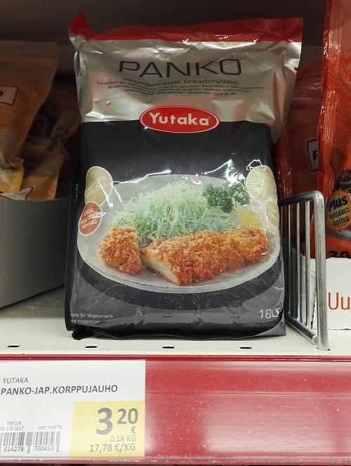 フィンランド スーパー パン粉