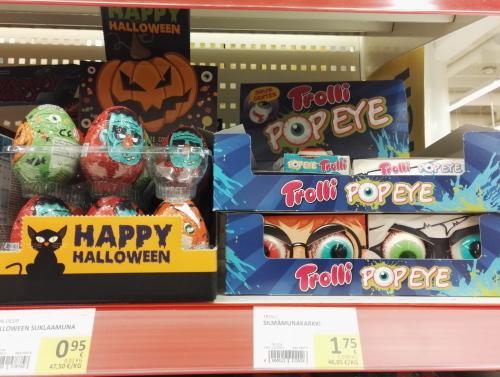 フィンランド スーパー ハロウィーン お菓子