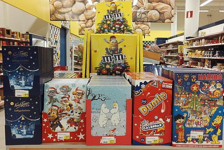 フィンランド クリスマス アドベントカレンダー Joulukarenteri