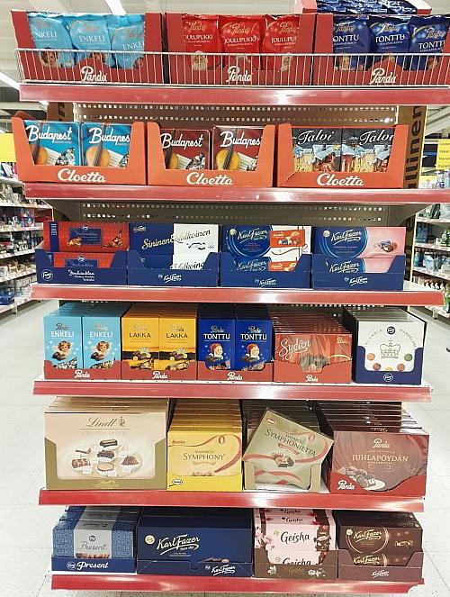 フィンランド クリスマス チョコ Joulu Suklaa