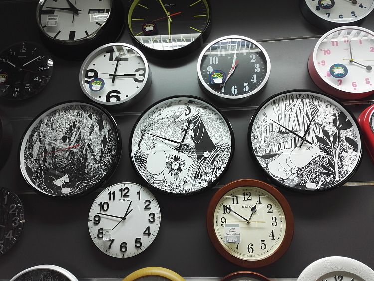 Muumi kello フィンランド ムーミン時計