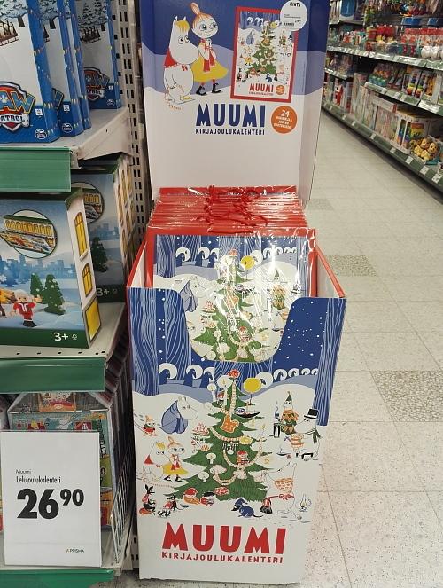 フィンランド ムーミン 本 アドベントカレンダー Muumi
