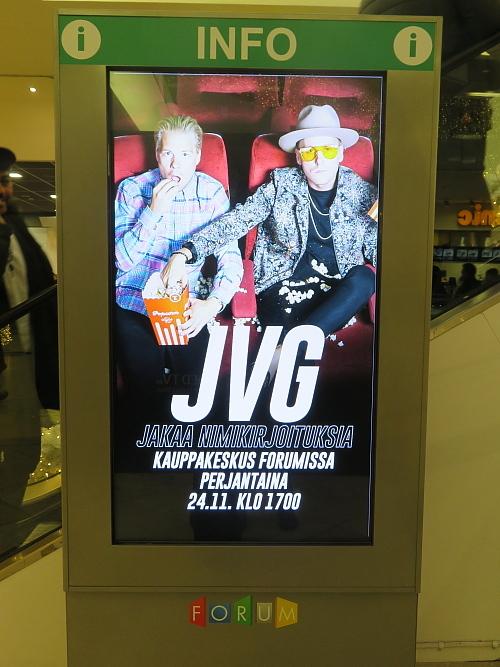 フィンランド Forum JVG サイン会