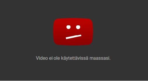 YouTube フィンランド