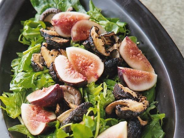 椎茸のサラダ