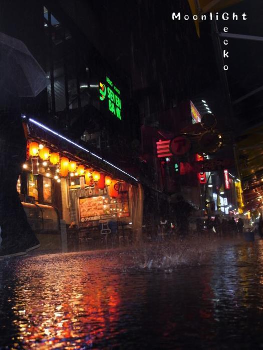 雨のアメ横