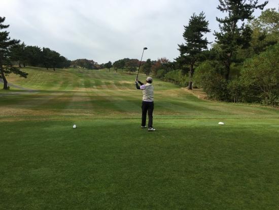 男鹿でゴルフ 003