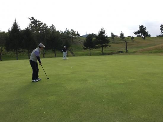 男鹿でゴルフ 011