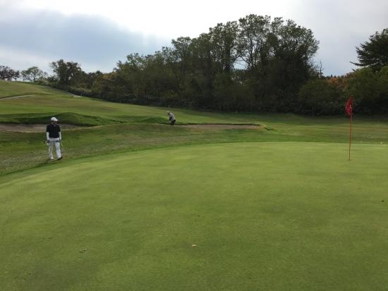 男鹿でゴルフ 018