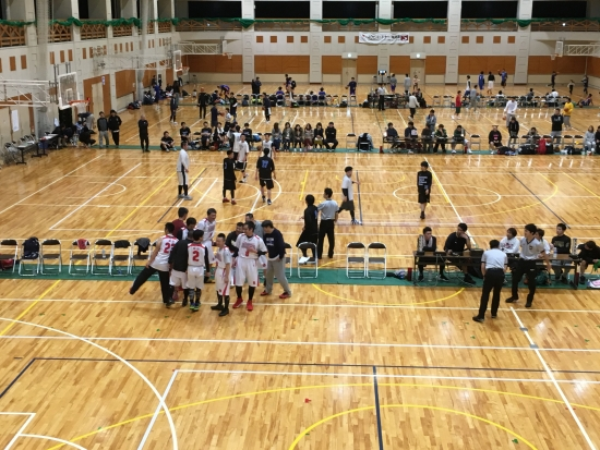 町民卓球大会~バスケ能代 059