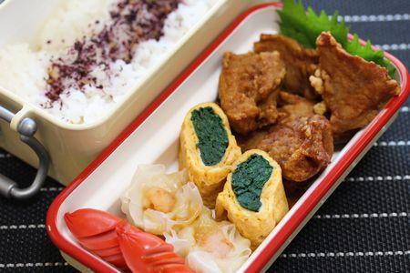 マグロ竜田揚げ弁当