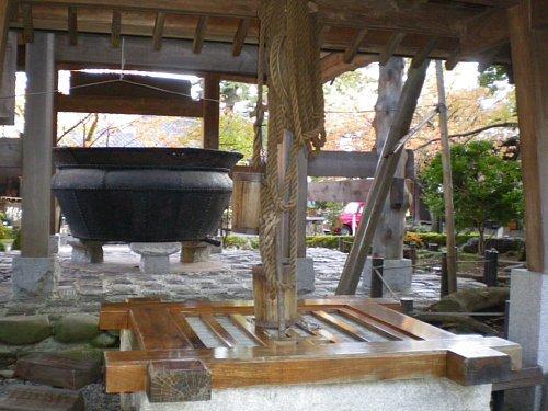 石川酒造・井戸