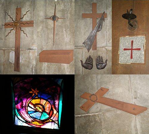 目黒教会・彫刻2