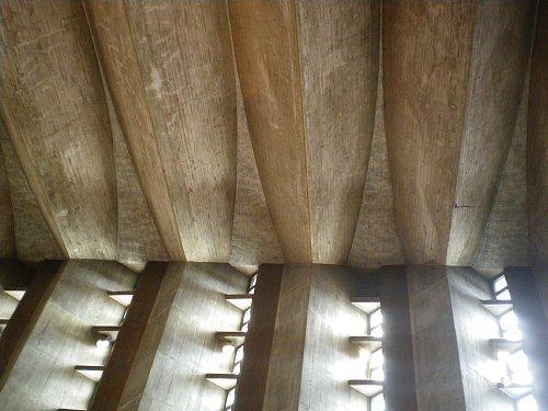 目黒教会・天井