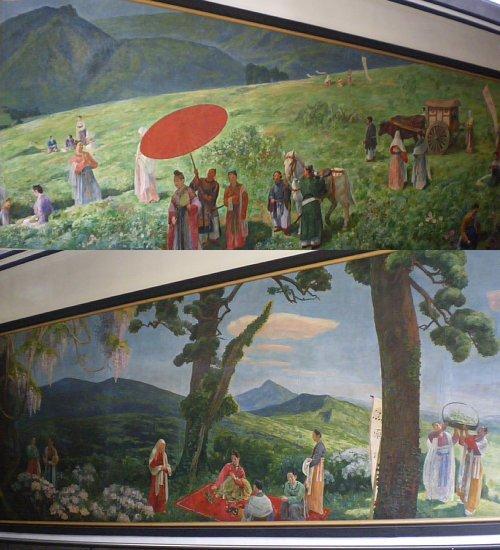 星薬科大学・壁画1