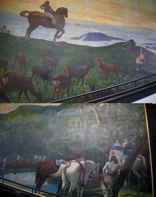 星薬科大学・壁画2