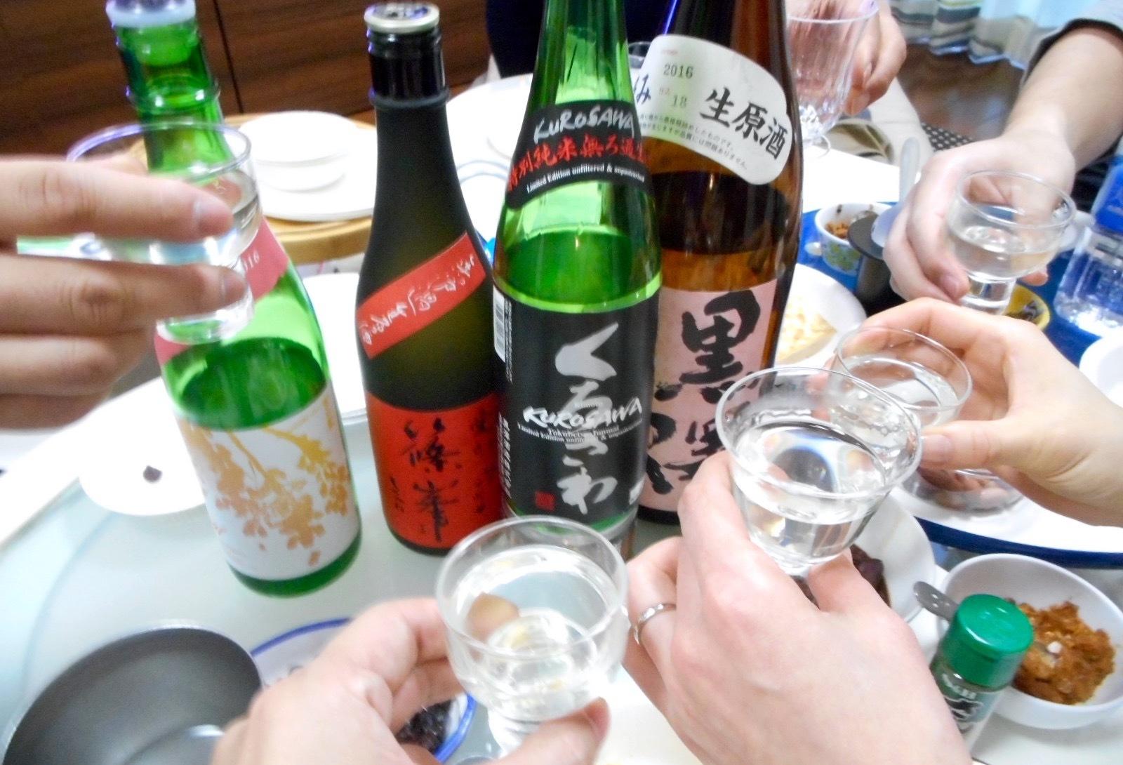 日本酒会_くろさわ