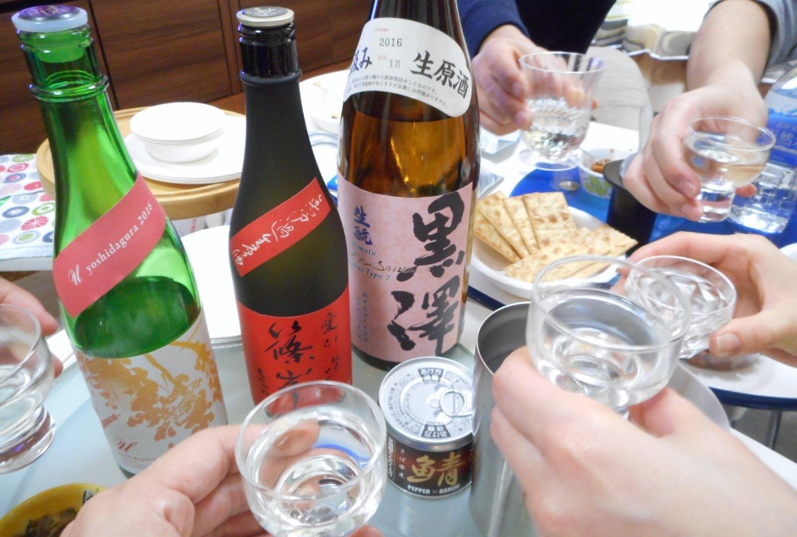 日本酒会_黒澤