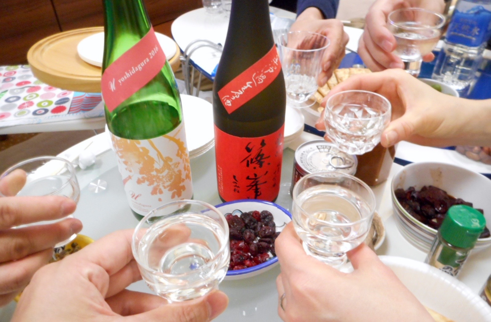 日本酒会_篠峯愛山