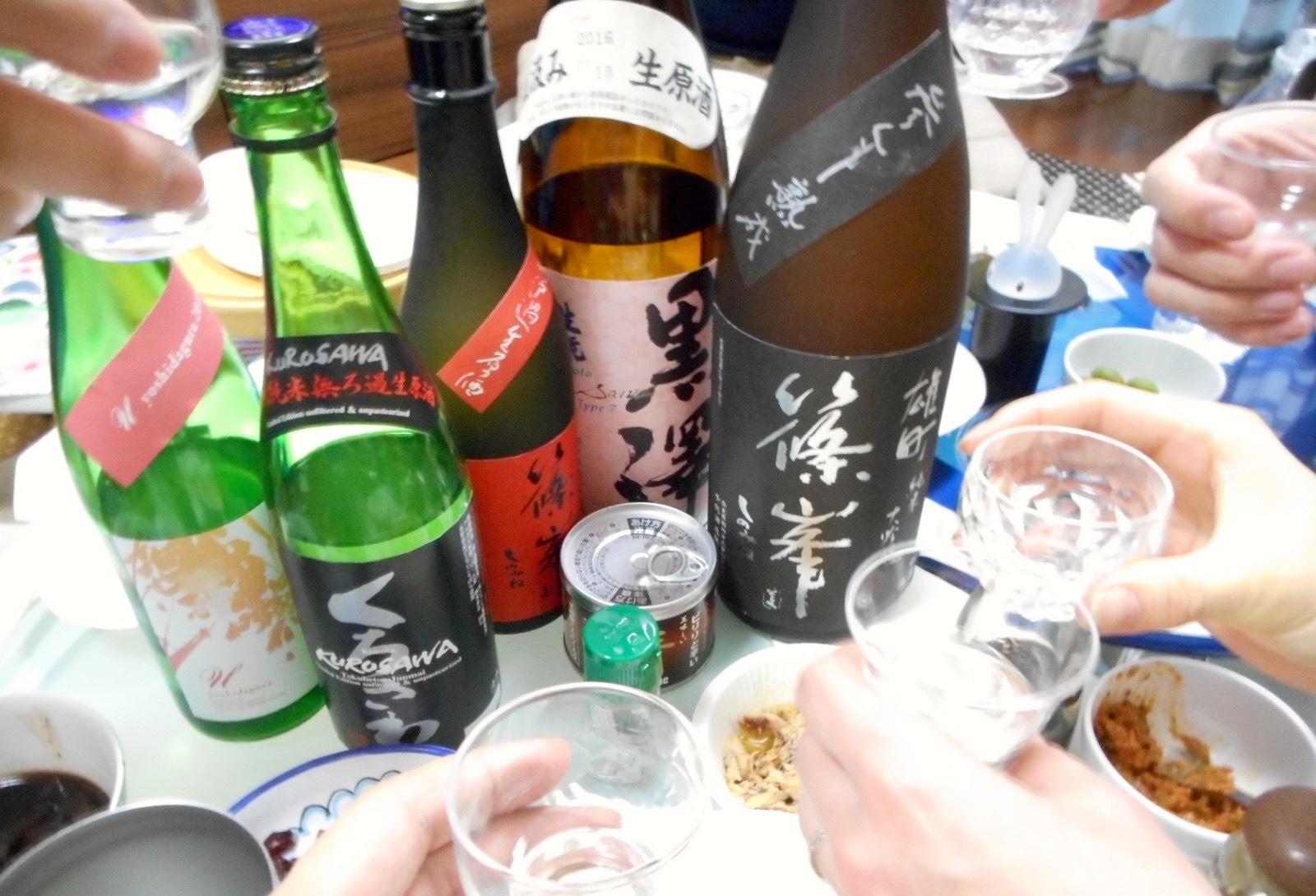 日本酒会_篠峯雄町