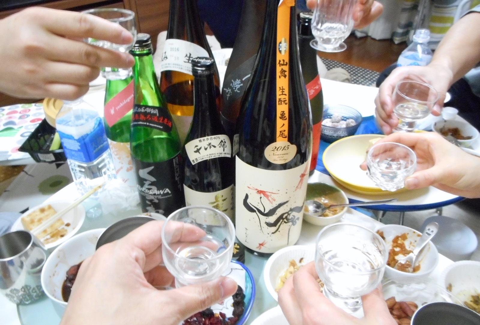 日本酒会_赤とんぼ