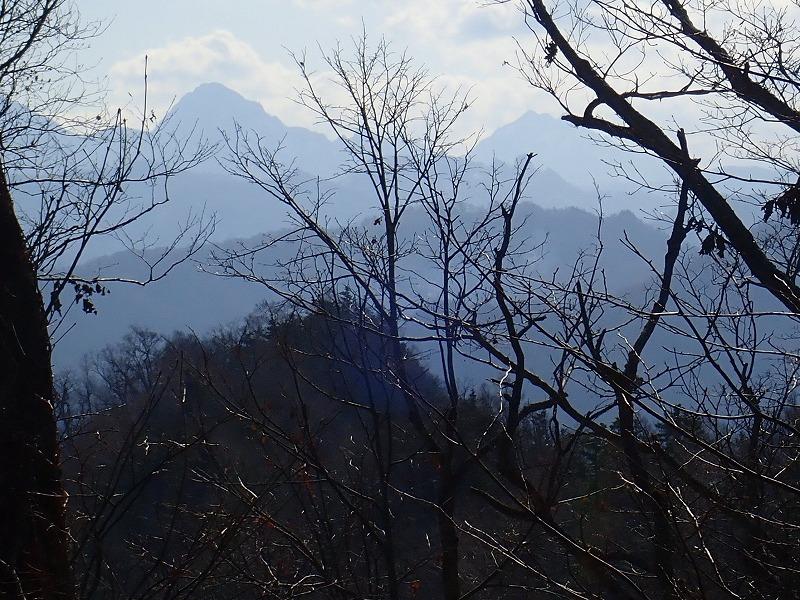 山頂から中岳