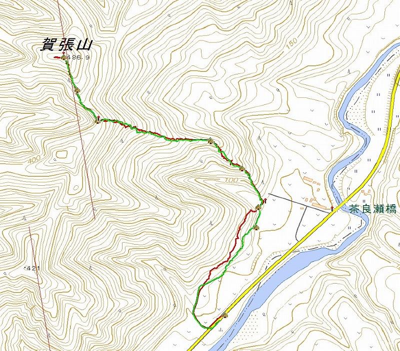 賀張山log