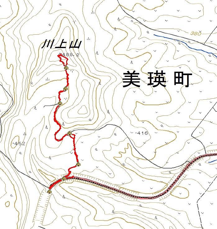 川上山log