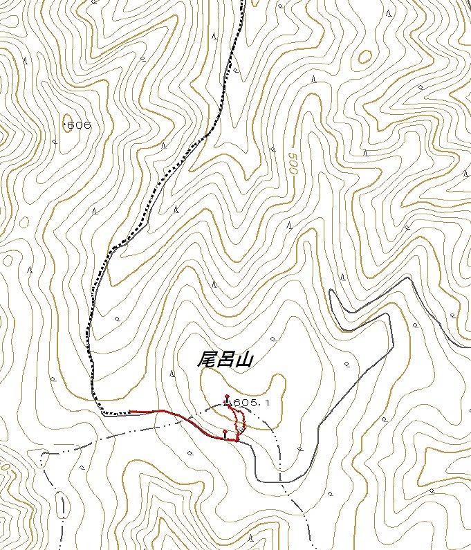 尾呂山log