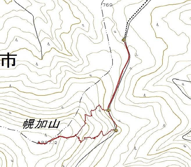 幌加山log