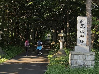利尻最終日神社