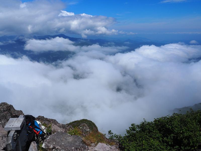 恵庭山頂雲海