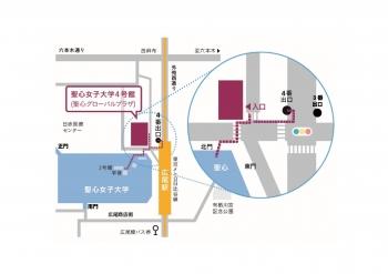 4号館・北門案内図(高画像)