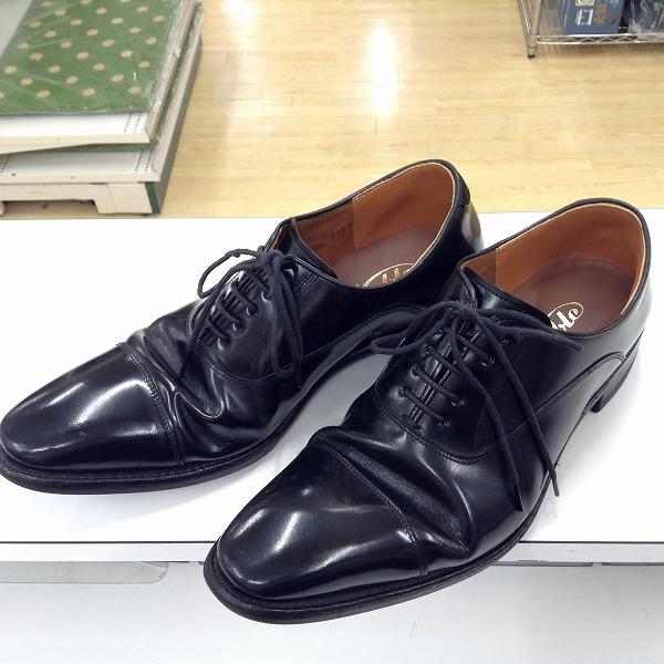 20171205紳士靴張り替え