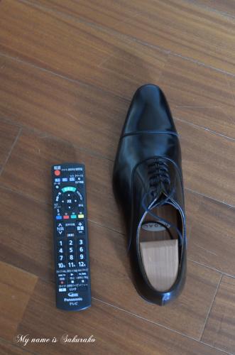 旦那ちゃんの靴