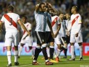 苦悩のアルゼンチン代表