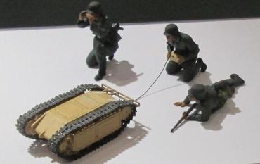 タミヤ1/35ドイツ突撃工兵チーム ゴリアテ セットTamiya German Assault Pioneer Team Goliath Setケッテンクラート牽引セット(インファントリーカート・ゴリアテ付き)電気モーター(Sd.Kfz.302) ガソリンエンジン (Sd.Kfz.303)タミヤフェア2017Tamiya‐Fairツインメッセ静岡ホビーショー2018