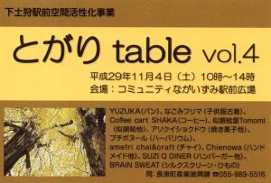 とがりテーブル7