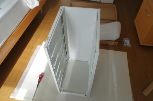IKEA HELMER 組み立て