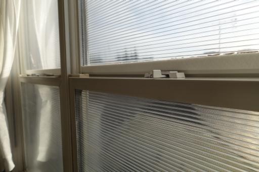 ポリカ 2重窓
