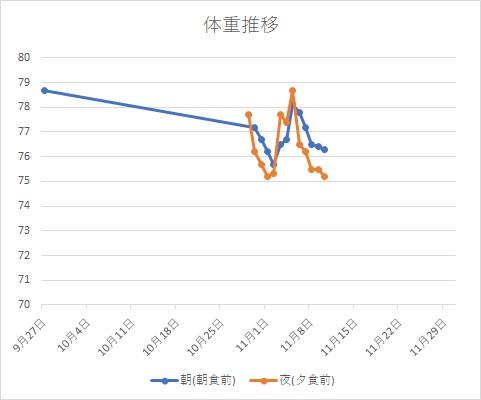 体重グラフH291110