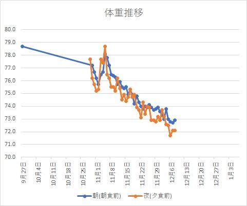 体重グラフH291208